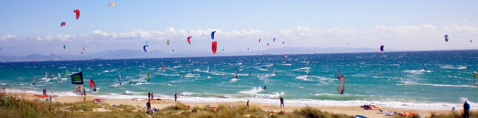 Kitesurf en Valdevaqueros